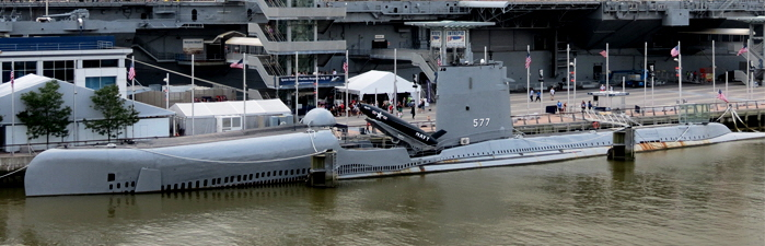USS Growler (SSG-577) with Regulus missile